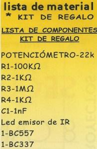 Inhibidor lista