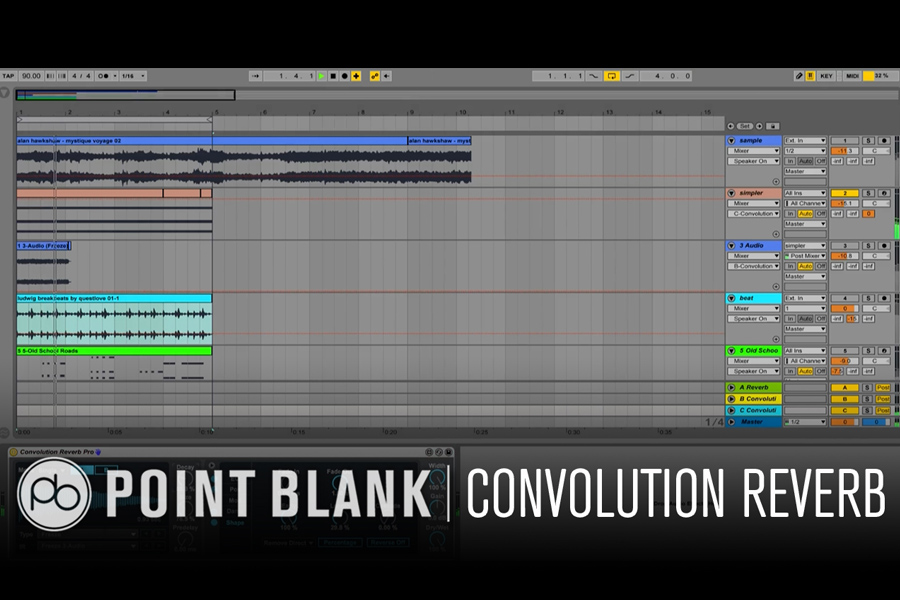 Ableton Live Tutorial: Using Convolution Reverb In Max For Live