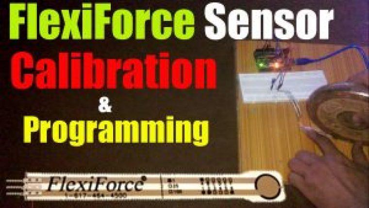 Flexiforce pressure sensor or force sensitive resistor