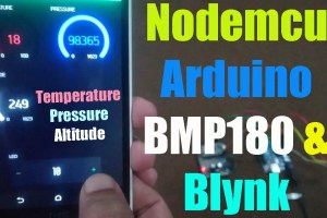 Nodemcu and bmp180