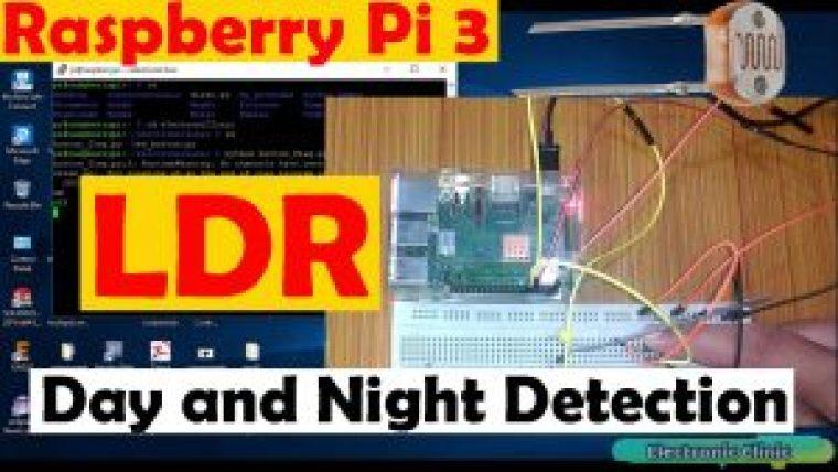 raspberry pi 3 ldr