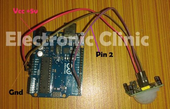 Arduino PIR Sensor