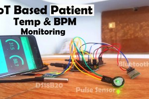 IoT based Patient monitoring System