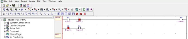 PLC Lab Exercise Logic Gates