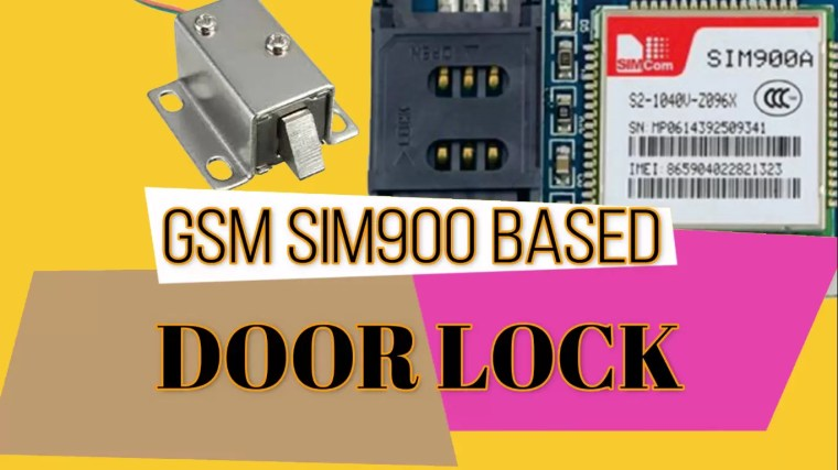 Door Lock System using Arduino and GSM, Wireless Electronic Lock
