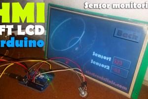 Arduino HMI Sensor Monitoring