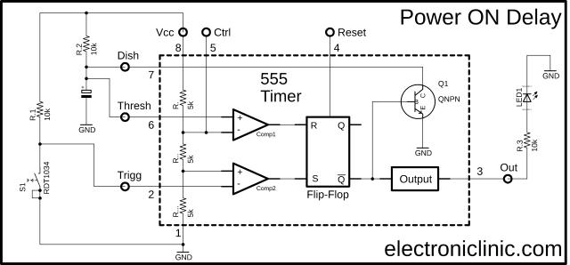 555 Timer IC