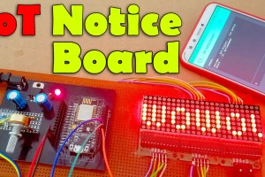 IOT Notice Board