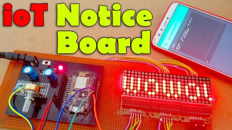 IOT Notice Board