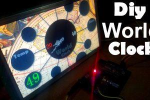 Diy Digital World Clock