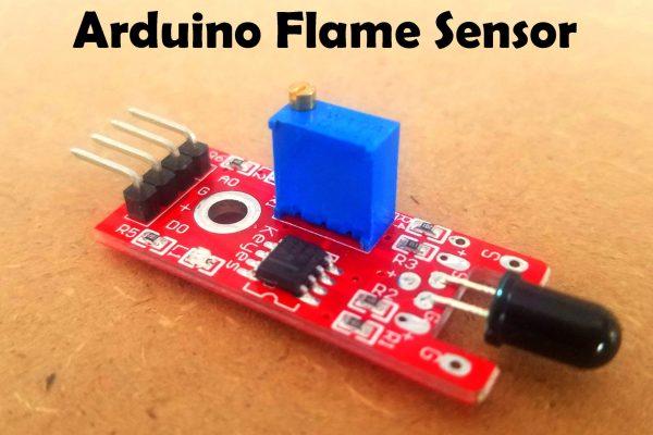 Flame Sensor Arduino