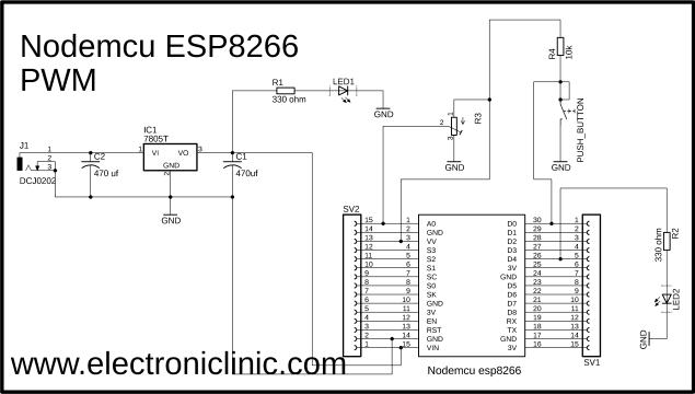 ESP8266 PWM