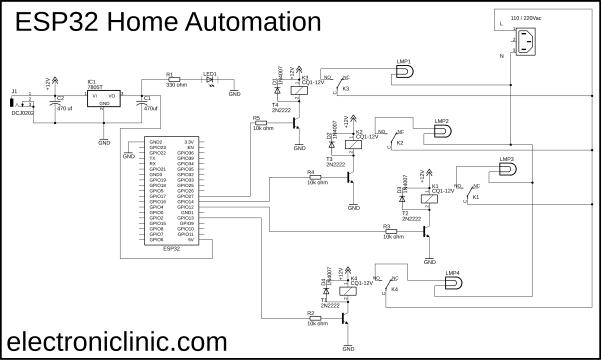 ESP32 Home Automation