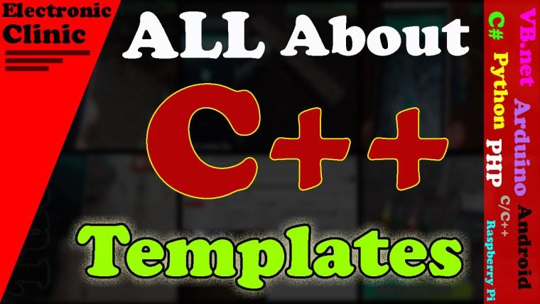 C++ template