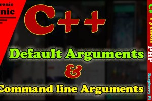 C++ Default Arguments