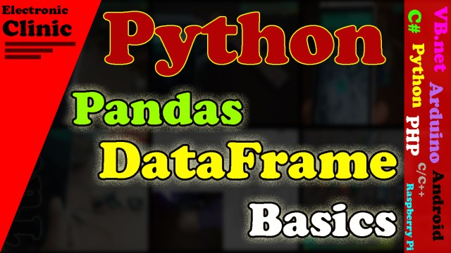 Pandas Dataframe