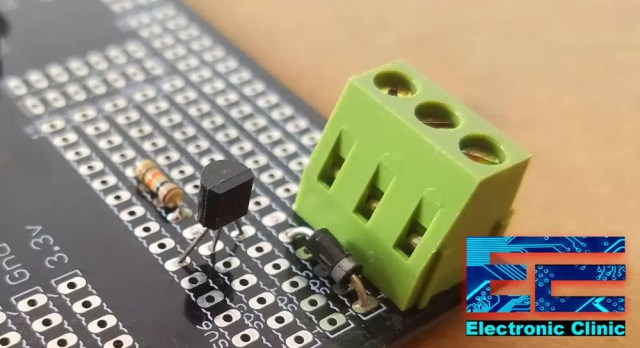 IoT Power relay 100A relay driver circuit
