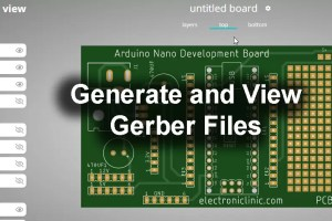 Generate PCB Gerber Files