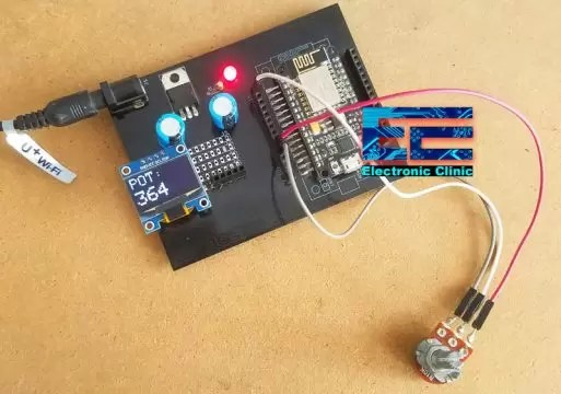 Nodemcu ESP8266 Oled Display
