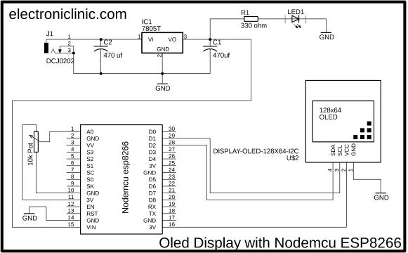 SSD1306 Oled