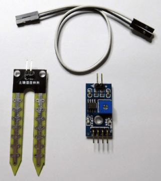Soil moisture Sensor with Raspberry Pi