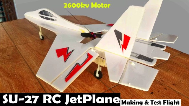 RC jet plane
