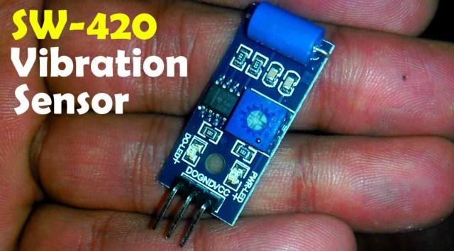 Vibration Sensor with Arduino