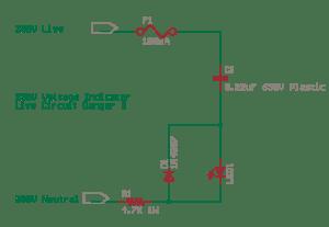 Schematics of delabs  Circuit Diagrams: Mains Voltage