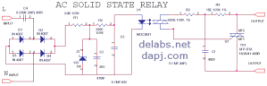 ACAC SSR Solid State Relay | delabs Schematics