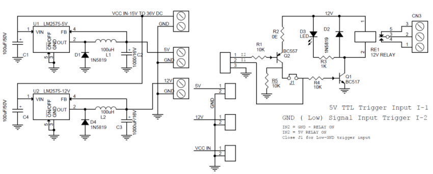 large-current-relay-schematic