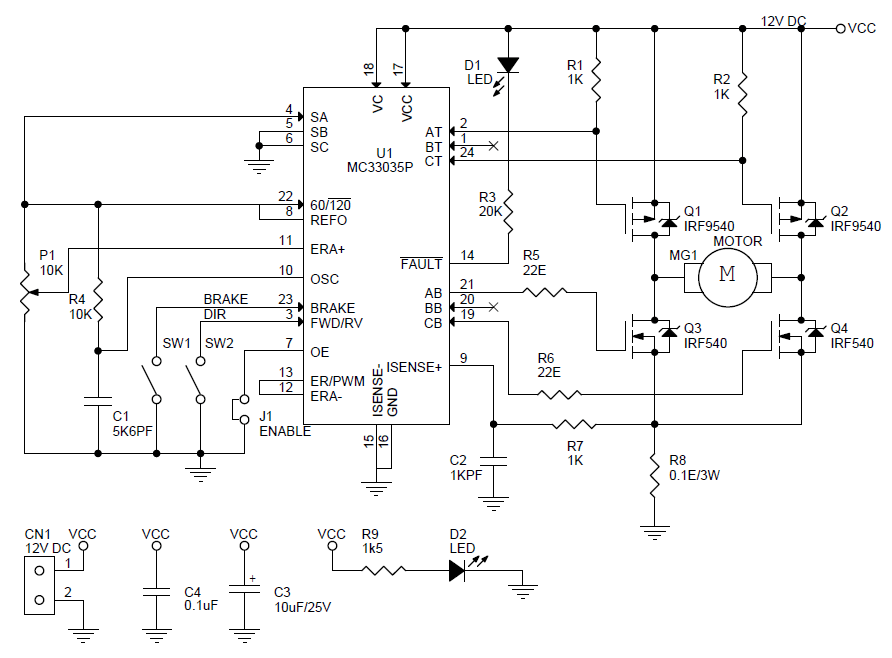 dc-motor-speed-direction-controller-schematic