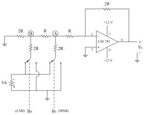 R2R Ladder DAC   Electronics Tutorial