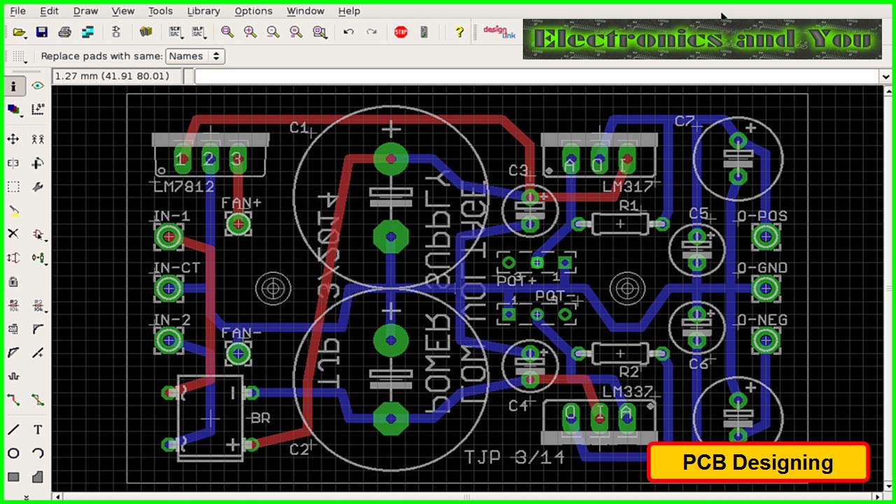Printed Circuit Board Design Diagram And Assembly