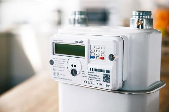 Electric Meter Number Top