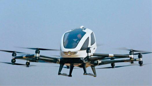 Ehang hybrid drone (Credit: www.ehang.com)