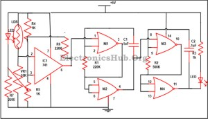 Electronic Letter Box Project Circuit and its Working