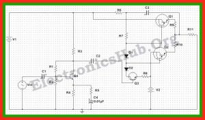 150 Watt Power Amplifier Circuit Diagram, Working and