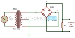 Full Wave Bridge Rectifier Circuit Working and Applications