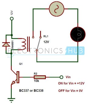 Types of Relays and Relay Driver Circuit | Buchholz Relay