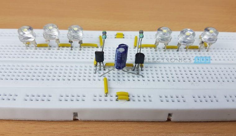 Led Light Chaser Circuit Diagram