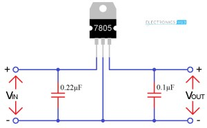 7805 Voltage Regulator IC Circuit Working and Applications