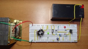 Automatic 12v Portable Battery Charger Circuit using LM317