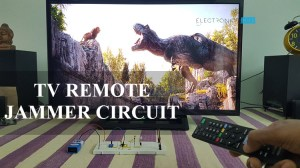 TV Remote Control Jammer Circuit using 555 Timer IC