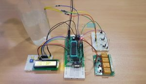 Water Level Controller and Indicator using 8051