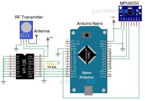 Hand Gesture Controlled Robot using Arduino