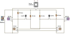 How To Make 12v DC to 220v AC ConverterInverter Circuit