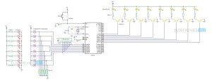 Street Lights that Glow on Detecting Vehicle Movement Circuit