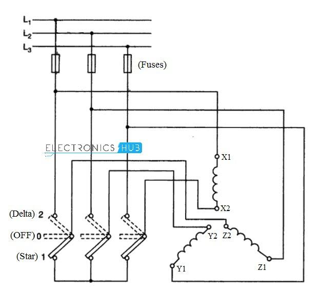 star delta starter for 3phase motor