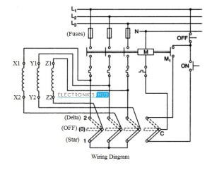 Star Delta Starter for 3Phase Motor