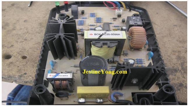 An Easy Fix To A Drill Battery Charger Repair Model Bosch Al1860cv Electronicsrepairfaq Com